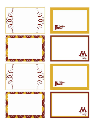 Harry Potter Food Tag Printables  *PLEASE READ DESCRIPTION