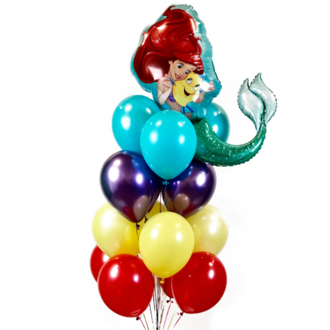 Little Mermaid Balloon Bouquet
