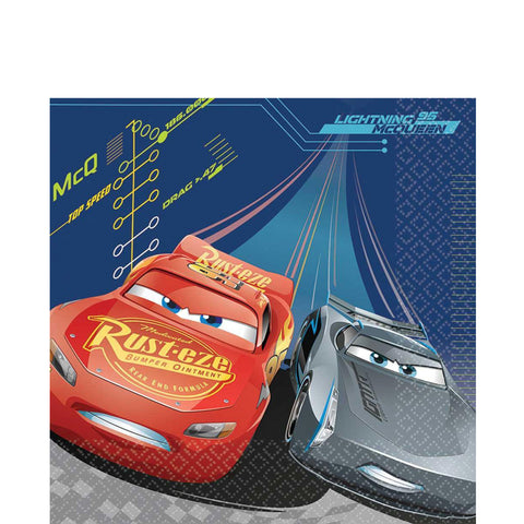 Cars 3 Lunch Napkins | 16 ct