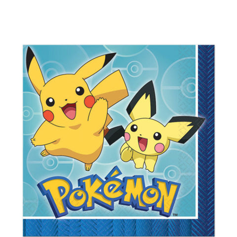 Pokemon Lunch Napkins | 16ct