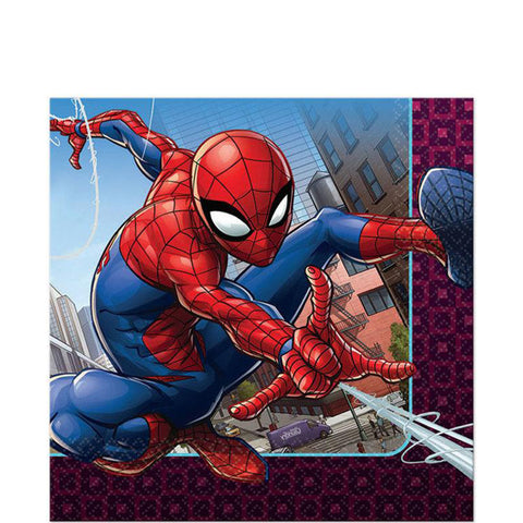 Spider-Man Web Wonder Lunch Napkins  | 16ct