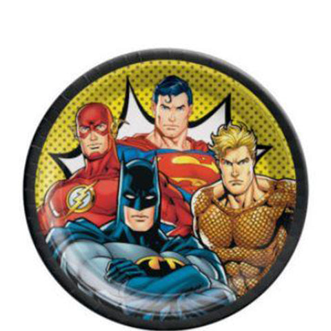 Justice League Lunch Plates | 8ct