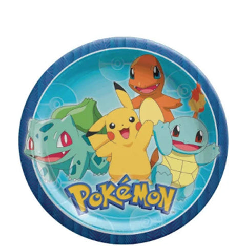 Pokemon Lunch Plates 9"