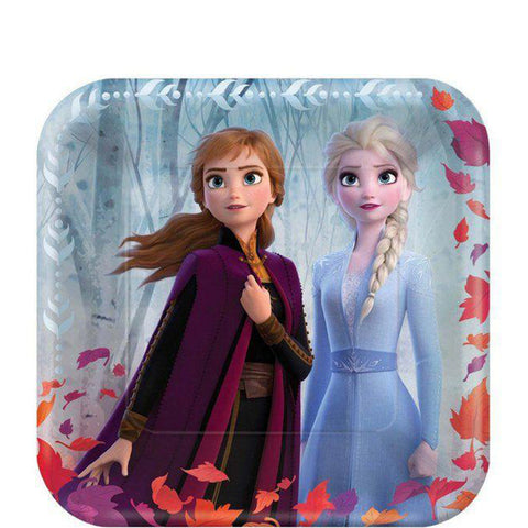 Frozen 2 Party Lunch Plates 9"