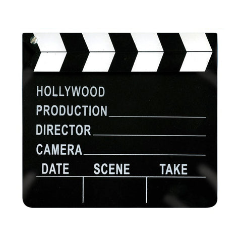 Movie Clapper Board Prop