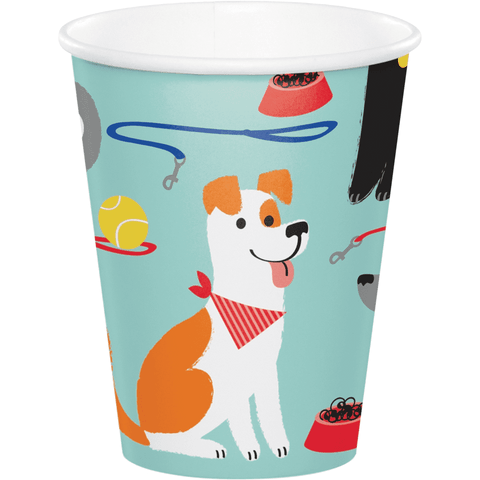 Pawesome Dog Party Cups 9oz | 8ct