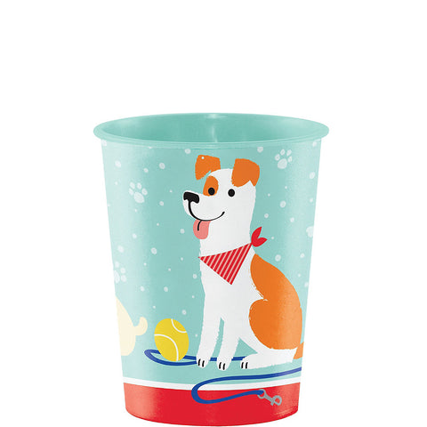 Pawesome Dog Party Platic Cups 16oz | 1ct