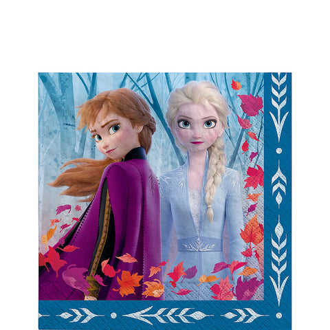 Frozen 2 Party Lunch Napkins 7"