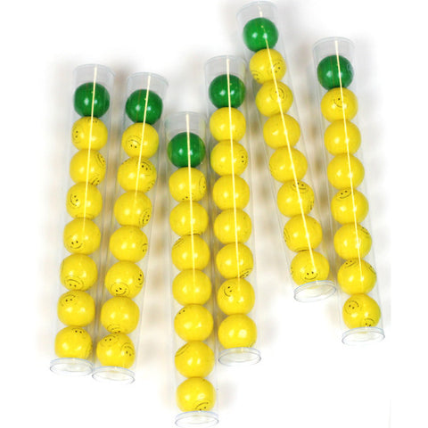 Pineapple Gumball Tubes 6ct