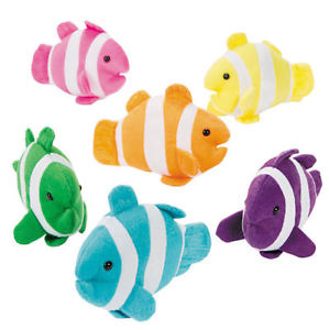 Plush Clown Fish | 12ct