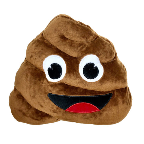 Poop Emoji Plush Pillow