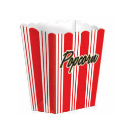 Hollywood Small Popcorn Boxes | 8ct