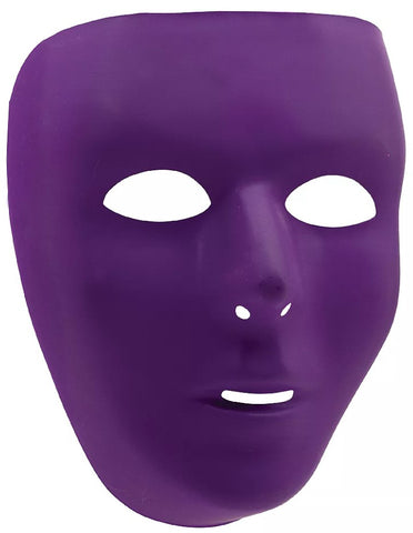 Purple Full Face Mask | Adult