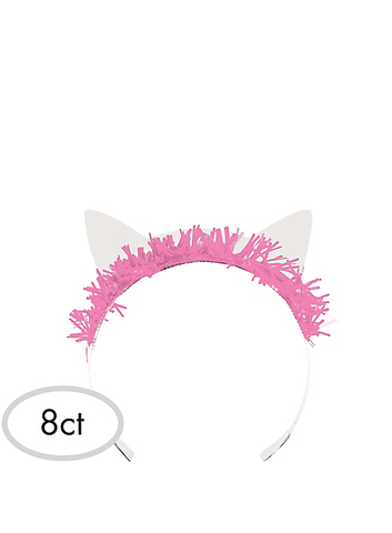 Purr-fect Cat Party Tiaras | 8ct