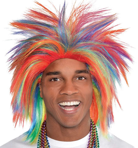 Rainbow Crazy Wig | 1ct