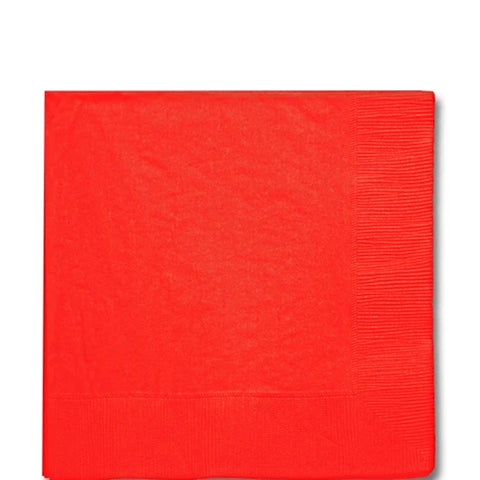 Apple Red Luncheon Napkin | 125ct
