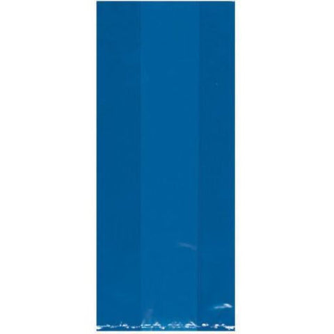 Royal Blue Translucent Party Bags Small | 25ct.
