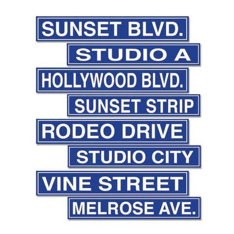 Hollywood Sign Cutouts