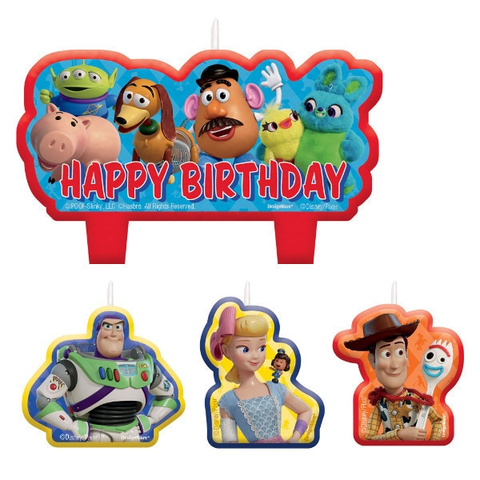 Toy Story Birthday Party Candle Set  | 4 ct