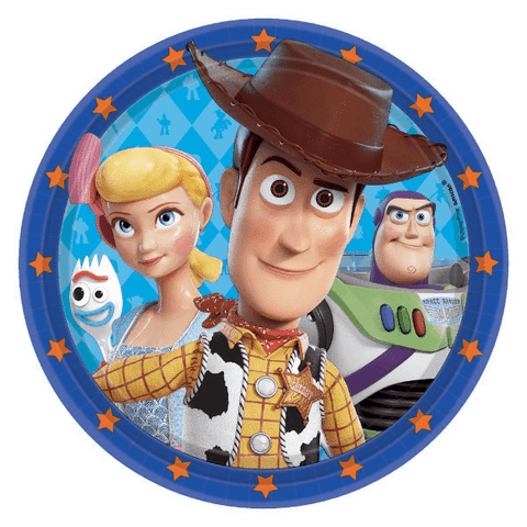 Toy Story Birthday Party Lunch Plates 9"