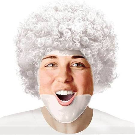 White Afro Wig | Adult