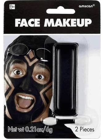 Black Face Makeup | 0.21 Oz.