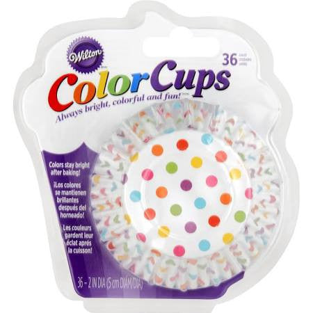 Color Cup Standard Rainbow Dots |36ct