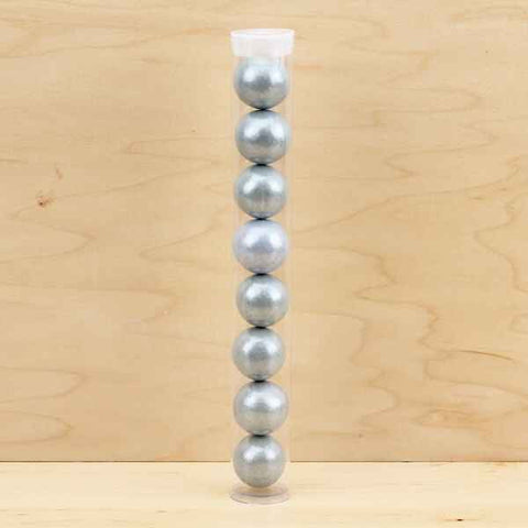 Pearl Silver Gumball Tube