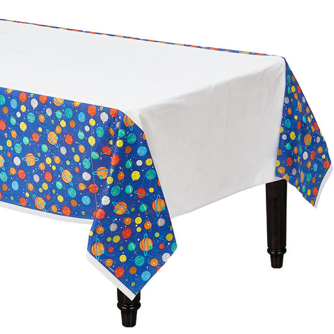 """Blast Off"" Space Party Table Cover 