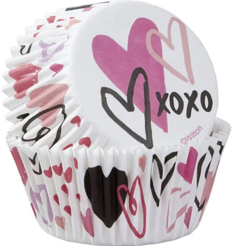 Standard Baking Cups Valentine | 75ct
