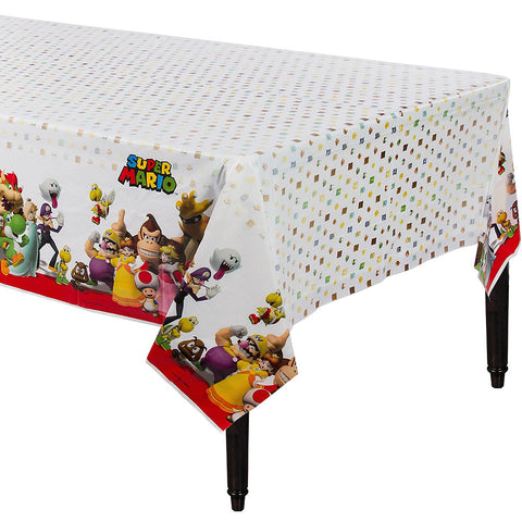 "Super Mario Table Cover 54"" x 96""  