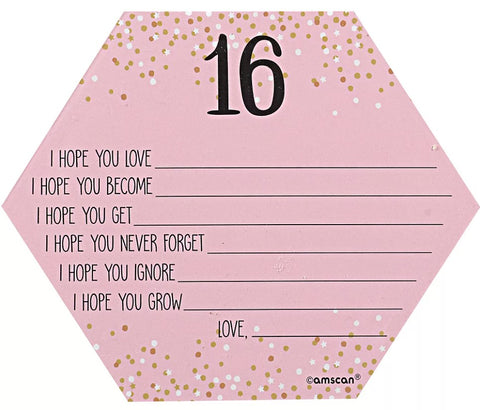 Sweet 16 Wish Cards | 24ct