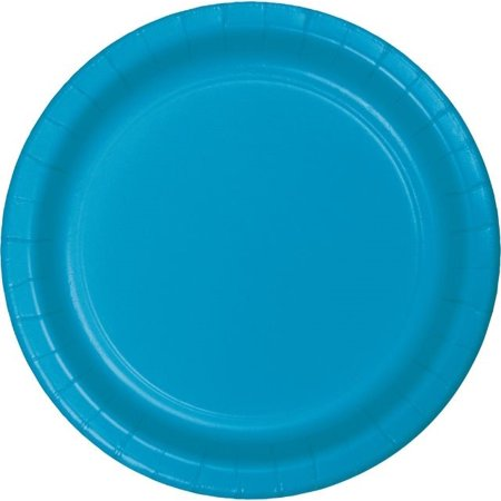 "Turquoise 10"" Paper Plates 