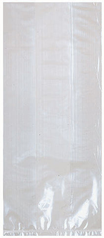 Clear Translucent Party Bags Large | 25ct.