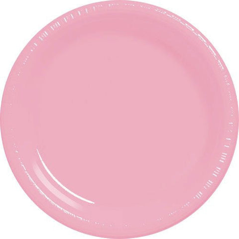 New Pink 10.25'' Plastic Plates | 50ct