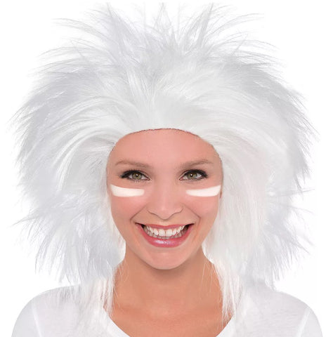 White Crazy Wig | 1ct