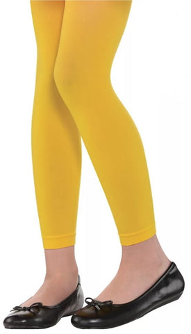 Yellow Footless Tights | Child