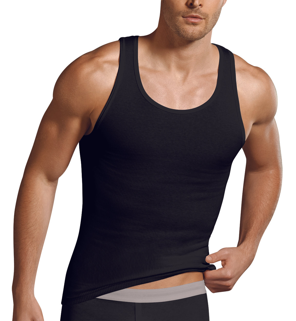 3888409e98ea6 Jockey - 1 pack Men s Big   Tall Cotton Interlock Tank Top - Inner Statement