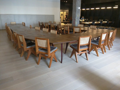 Pierre Jeanneret Armless Chairs by Phantom Hands at Spring Place, NYC