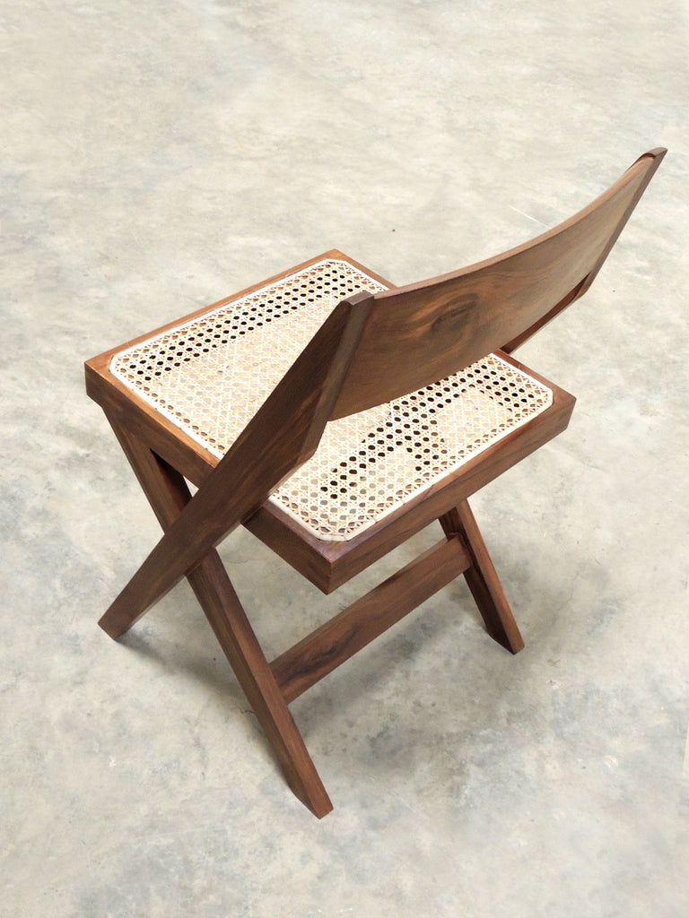 Wooden easy chair models - Chandigarh Library Chair