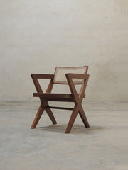 Pierre Jeanneret Cross Leg Office Chair