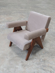 Upholstered Easy Armchair