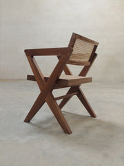 Project Chandigarh X leg office armchair