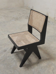 Black Pierre Jeanneret Chair
