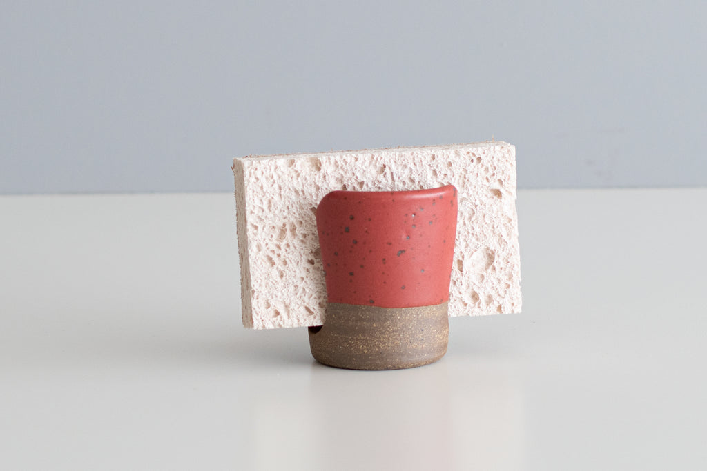 Matte Red Sponge Holder - Color Discontinued