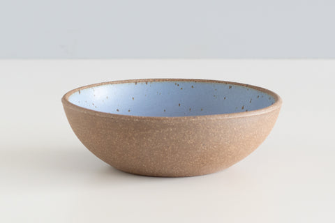 "7"" Cereal Bowl - Natural Clay Exterior"