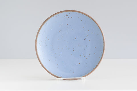 "9"" Salad Plate - Natural Clay Exterior"