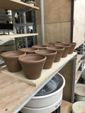 "Set of 4, 6"" Flower Pot - Second #072020"