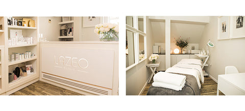 Inside the Lazeo London spa