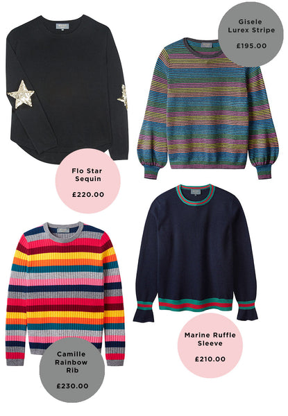 Four jumpers for Christmas